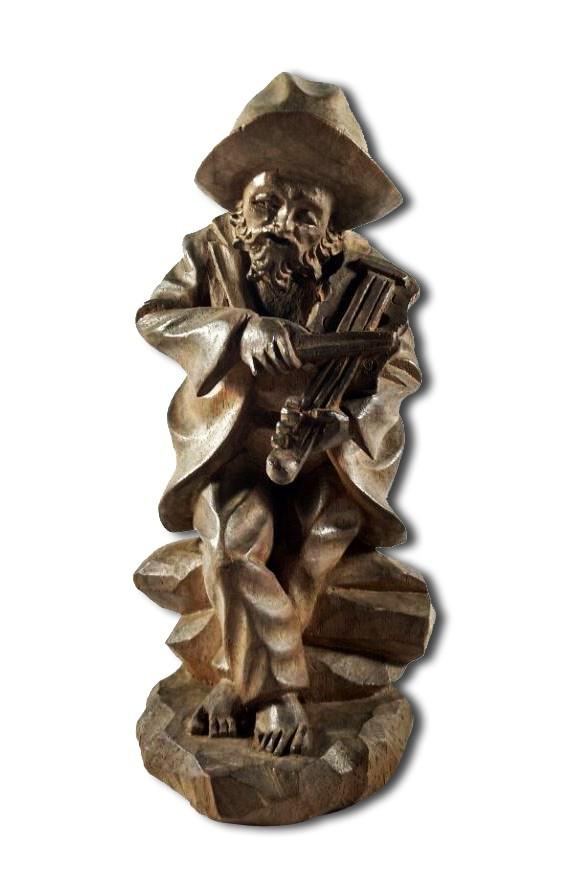 Escultura violinista