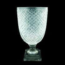 Vaso cristal bico de jaca