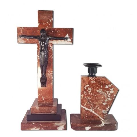 Cristo e castiçal