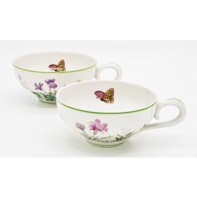 Xícaras borboletas